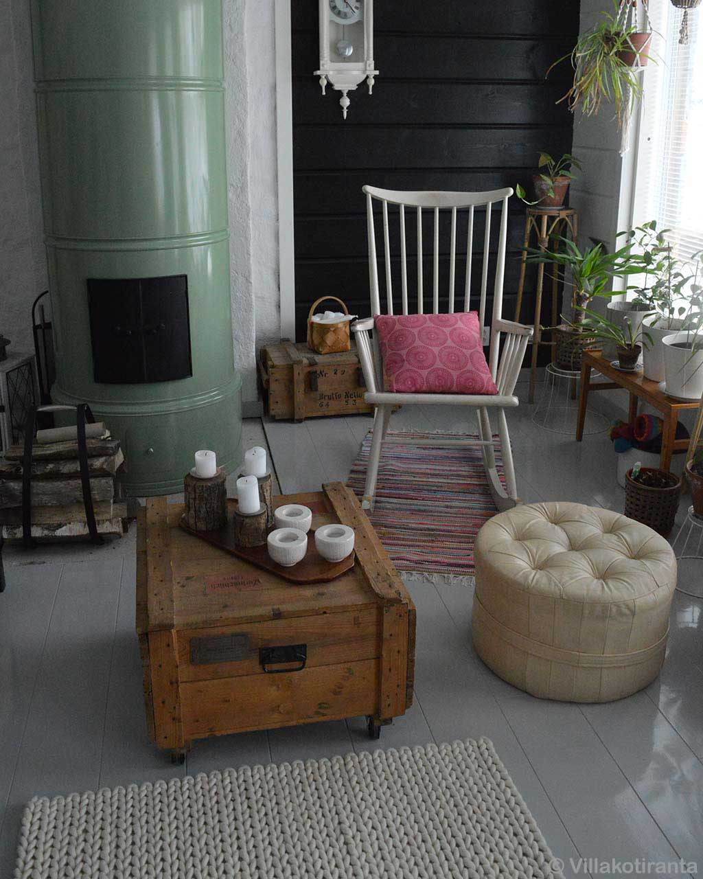 hand made center table couch and chair rugs