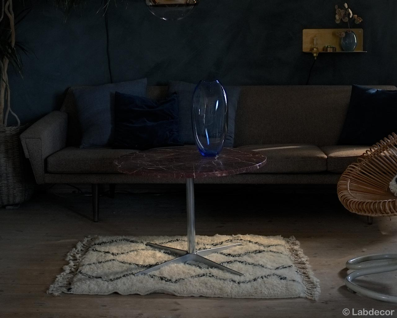 woolen blue vase brown chair and sofa contemporary rugs