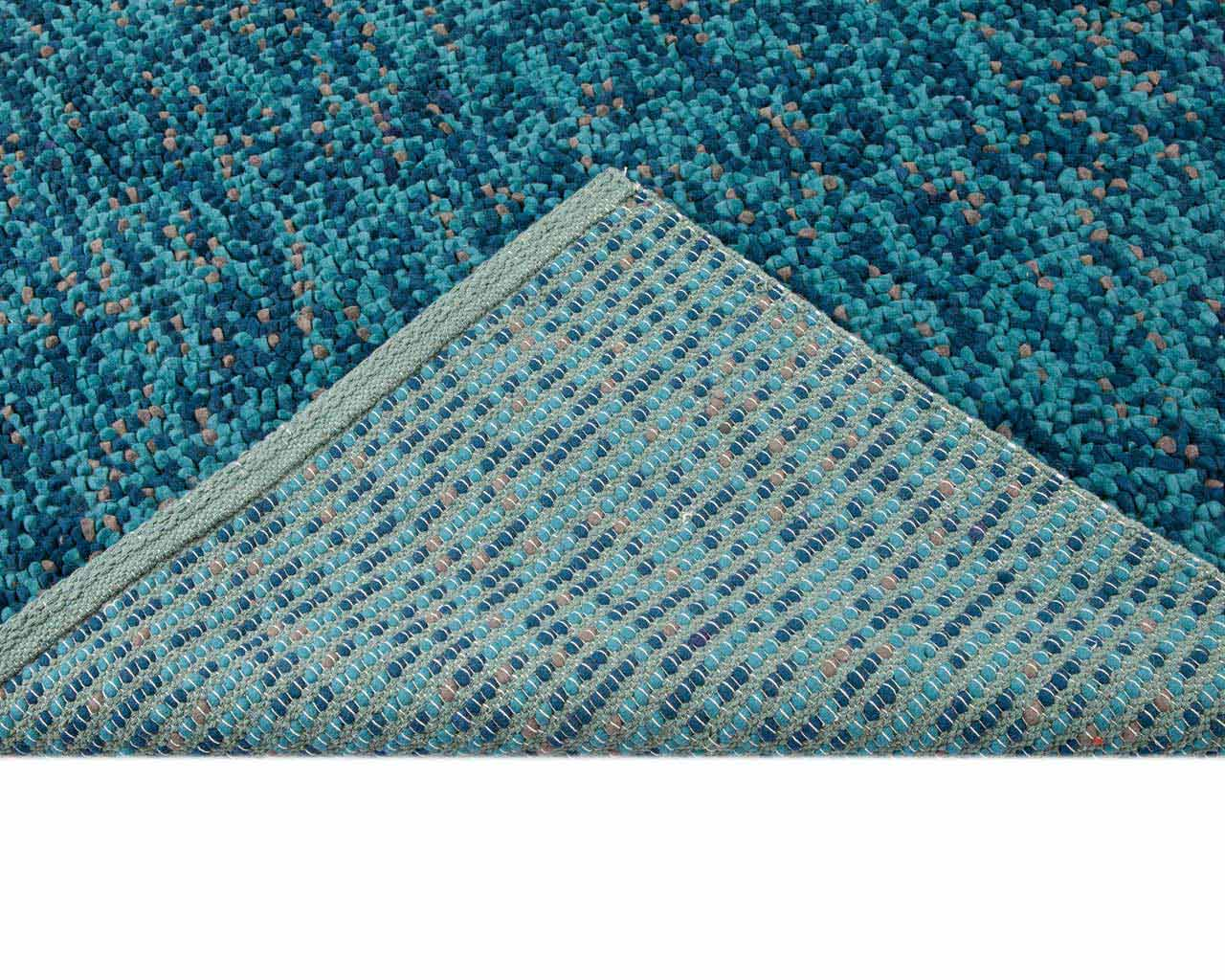 attic rugs designer blue green